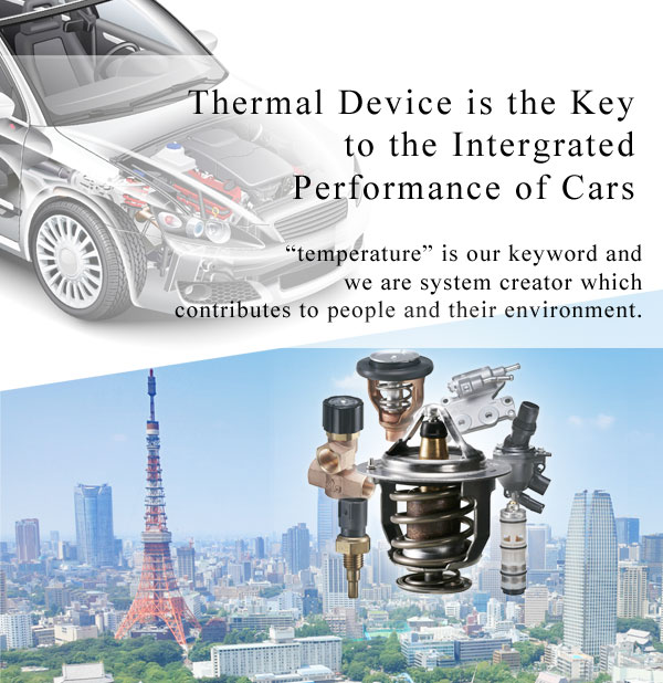 Thermal Device is the Key to the Intergrated Performance of Cars